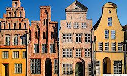 Lübeck Altstadthäuser