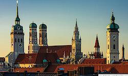 München Panorama Innenstadt