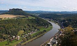 Radreise von Prag nach Dresden