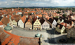 Rothenburg Ausblick Rathausturm
