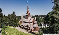 Harz Stabkirche Hahnenklee