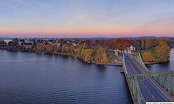 Potsdam mit Glienicker Brücke
